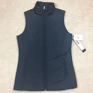 Cabelas thinsulate vest quilted black small NWT